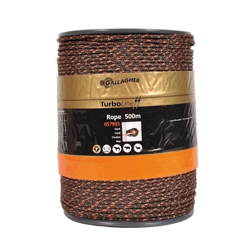 Agrovete - Corda TurboLine castanha 500m 1