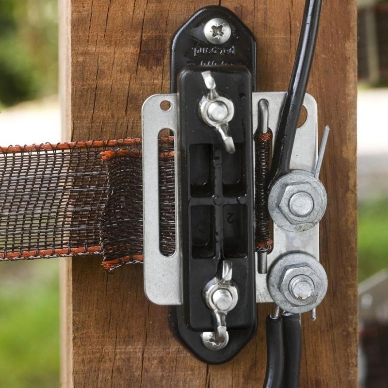 Agrovete - Isolador de Canto Início-fim para Fita 40 mm - 5 uni. 3