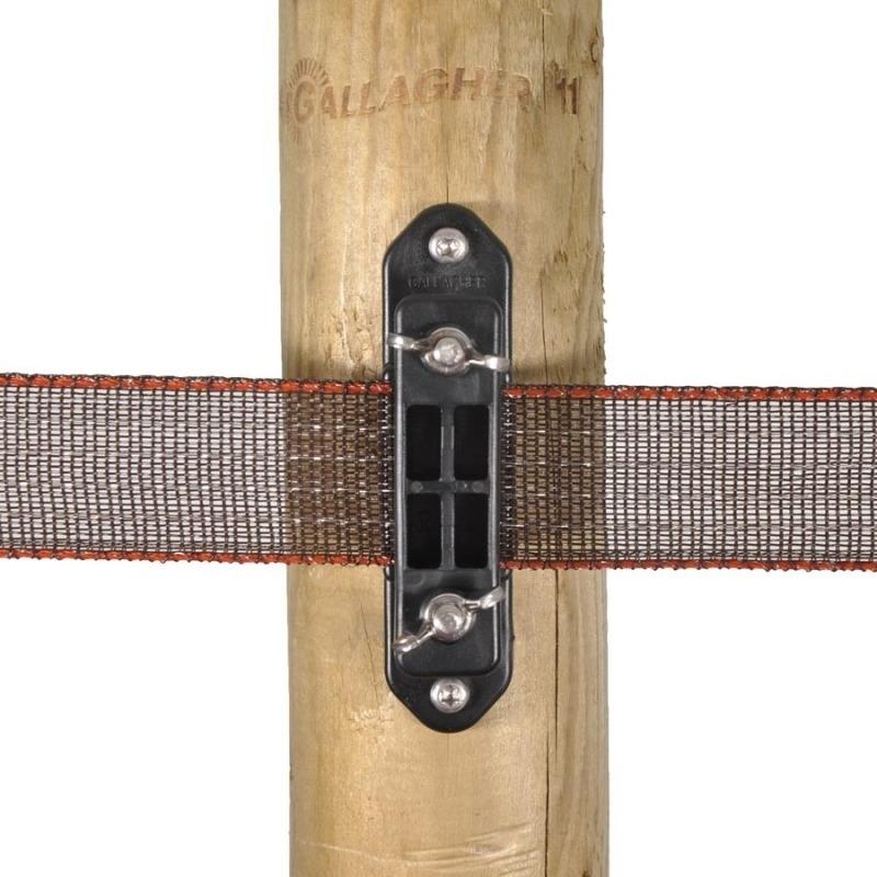 Agrovete - Isolador de Canto Início-fim para Fita 40 mm - 5 uni. 1