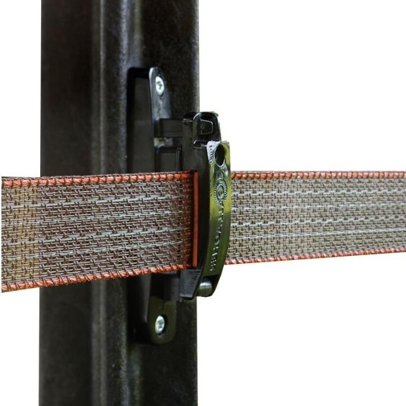 Agrovete - Isolador Turbo para Fita 40 mm - 20 uni. 1