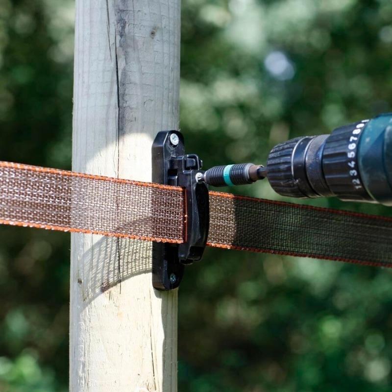Agrovete - Isolador Turbo para Fita 40 mm - 100 uni. 3