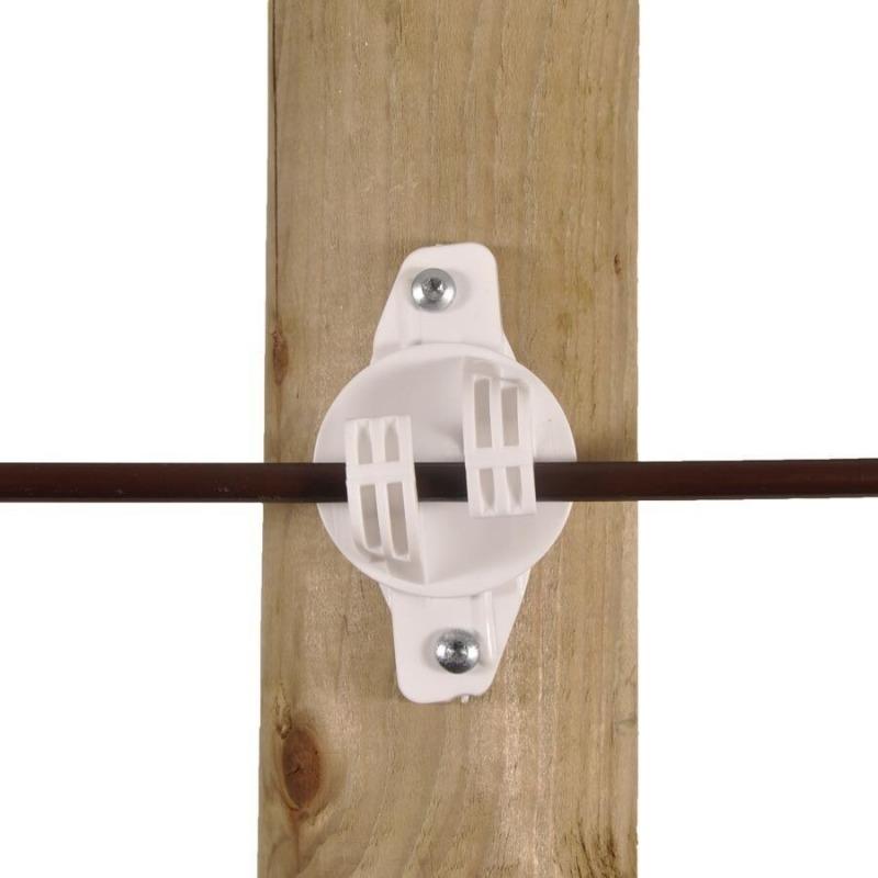 Agrovete - Isolador W Branco para Corda 1