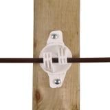 Agrovete - Isolador W Branco para Corda 1 Thumb