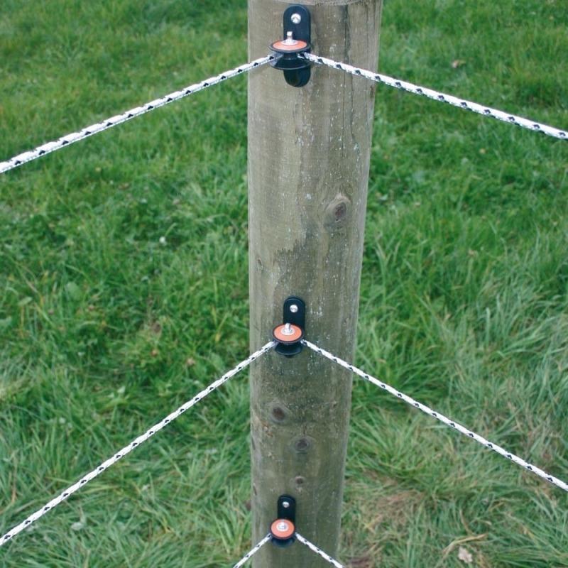 Agrovete - Isolador de canto redondo - 5 uni. 2